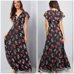 ModCloth x Anna Sui NWT Authentically Maxi Dress